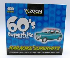 More details for zoom karaoke cd+g - 60's sixties superhits - triple cd+g karaoke disc pack