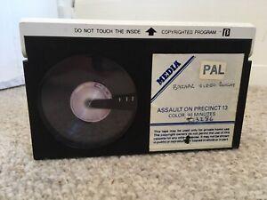 Pre Cert Assault On Precinct 13 Betamax Media Video Tape Only