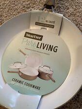 WearEver Pure LIVING Ceramic Non-Stick Fry Pan 12in Saute'