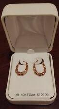 Brand New 10kt Gold Earrings