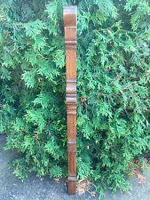 Antique Victorian Oak PILASTER Fretwork Panel Spandrel Corbel Architectural