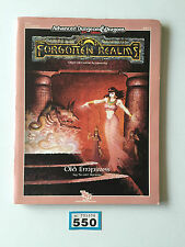 ADVANCED DUNGEONS & DRAGONS FORGOTTEN REALMS OLD EMPIRES + MAPS 9274 FR10
