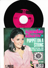 "7"" - Sandie Shaw - Puppet on a String -------"