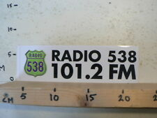 STICKER,DECAL RADIO 538 THE STATION OF A YOUNG GENERATION B BETA SCOOTER