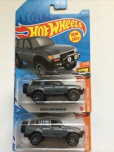Hot Wheels New for 2021 Toyota Land Cruiser lot of 2~FREE SHIPPING in the US!