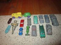 16 Older Tootsie Toy Car's, Boat's Etc.