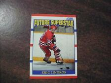 ERIC LINDROS 1990 SCORE HOCKEY > FUTURE SUPERSTAR ROOKIE CARD #440