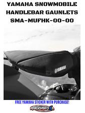 Yamaha Snowmobile DRIVER Wind Hand Deflectors Guard GAUNLETS SMA-MUFHK-00-00