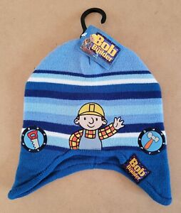 Bob The Builder – Bob Kids/Boys Beanie Hat Size 1-3 New With Tags