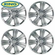 "Set 4 Flare Wheel Trims/Hub Caps 14"" Covers fit Toyota Yaris Aygo Corolla Auris"