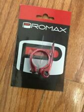 PROMAX Qr-1 31.8mm Red Quick Release Bicycle Seat Clamp