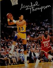 Mychal Thompson Hand Signed Autographed 8x10 Photo Los Angeles Lakers Showtime