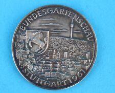 "Bundesgartenschau 1961 "" STUTTGART "" 1000 Silber Medaille 25,46 Gramm"