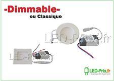 Module spot led encastrable 3w,7w,12w ou 18w