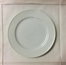 "FURSTENBERG WAGENFELD WHITE BREAD & BUTTER PLATE 7"" PORCELAIN GERMANY NEW"