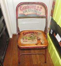 More details for (#17) guinness folding chair  excellent condition   (pick up only)
