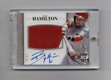 2014 NATIONAL TREASURES BILLY HAMILTON PATCH AUTO RC #40/99 REDS