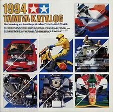 Katalog Tamiya 1994 catalogue catalog scale model kits Modellbau Bausätze Modell