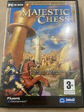Super selten! komplett mit Handbuch Majestic Chess PC Game Retro Vintage
