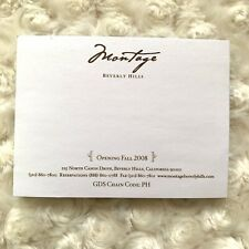 Montage Beverly Hills Hotel Sticky Notes Office Supplies Journal Luxury Resort