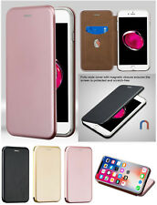 Apple iPhone X XS 8 7 /Plus Leather Flip Wallet Case Protector Book Magnet Cover