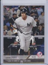 2018 Topps NOW 835 Aaron Judge New York Yankees [10.3.18] ~ PR 1418