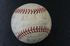 1959 San Francisco Giants Facsimile Signed Team Baseball Stadium souvenir Mays
