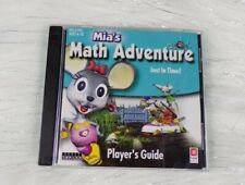 Mia's Math Adventure: Just in Time Pc Cd-Rom Ages 6-10 Fun Learning Play!