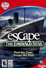 New Escape The Emerald Star Hidden Objects Puzzle Game PC Windows Mac CD-ROM