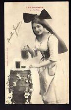 BRASSERIE théme LA BIERE alsacienne  série les boissons CPA N° 2