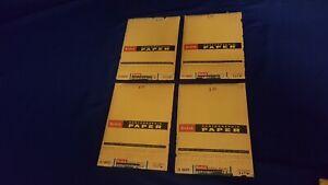 Lot 4 Kodak Kodabromide F-4 Photographic Paper 5x7 25 Pcs Single Weight Sealed