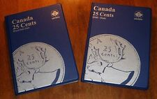 COLLECTION DELUXE of Canada 25¢ CENTS Coins (1902-2017) - NICE Cdn Quarters SET!
