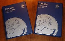 COLLECTION DELUXE of Canada 25¢ CENTS Coins: 1911-2018 - NICE Cdn Quarters SET!