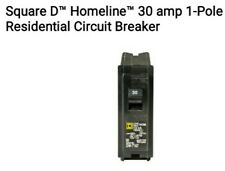 New! Square D 30A Homeline Hom130Cp Single or 1 Pole 30 Amp Circuit Breaker.