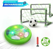 Kids Game Toys Hover Soccer Ball Set Hover Ball for Kids LED Rechargeable Gift