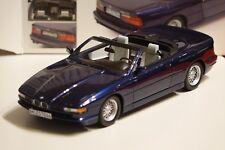 BMW 850i CABRIO BLU METALLIZZATO 1:18 Schuco 450006900 NUOVO + OVP