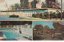 (T)  Niagara Falls, NY - El Sombrero Motel - Exterior and Pool and Deck Areas