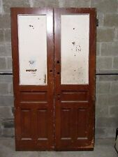 ~ Antique Double Entrance French Doors ~ 47 X 83 ~ Architectural Salvage ~