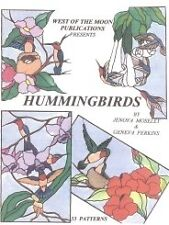 Stained Glass Pattern Book - HUMMINGBIRDS