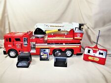 """Full Function Remote Control Fire Truck 21"""" w Water Jet Cannon by Supertoys 7952"""