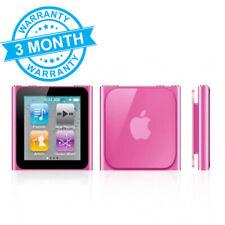 Apple iPod Nano 8GB 6th Gen Generation Pink MP3  **3 MONTH WARRANTY**