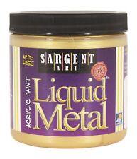 Sargent Art Liquid Metal Acrylic Paint - 8 oz - Gold
