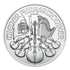 Österreich 1 oz. Unze Silbermünze 999 Wiener Philharmoniker 2020 NEU in Kapsel