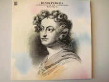 HENRY PURCELL, COMPLETE MUSIC FOR HARPSICHORD, ROBERT WOOLLEY, HB-73033 2LP set