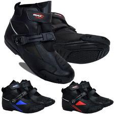 Max5 Mens Motorbike Motorcycle Boots Bike Racing Shorts Sports Waterproof Shoes