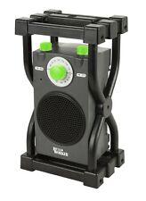 Radio de Chantier - 220V ou Piles - 720 W- BUILD WORKER - RADIOCH - 74152437