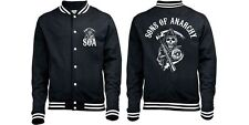 Official Sons Of Anarchy Men's Classic Varsity Jacket