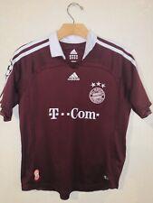 Fc Bayern Munchen Munich Adidas Soccer Jersey Size Youth Medium Maroon