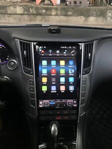 Car GPS Navigation Android 7.1 Tesla screen Radio For Infiniti Q50 2015-2019