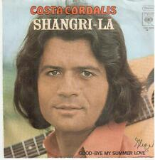 "<632>7"" Single: Costa Cordalis - Shangri-La / Good-Bye My Summer Love"